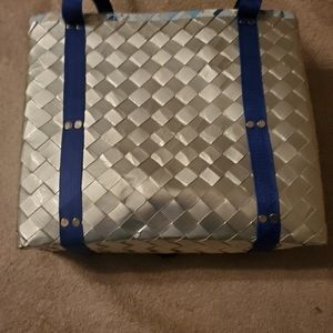 Tote made of recycled materials